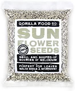Sunflower Seeds Raw Hulled (No Shell) Unsalted - 1 LB Resealable Bag