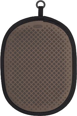 OXO 鍋敷き シリコン ポットホルダー ブラック