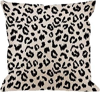 HGOD DESIGNS Leopard Pillow Cover,Decorative Throw Pillow Leopard Print Pillow Cases..