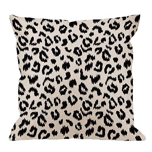 Leopard Pillow: Amazon com