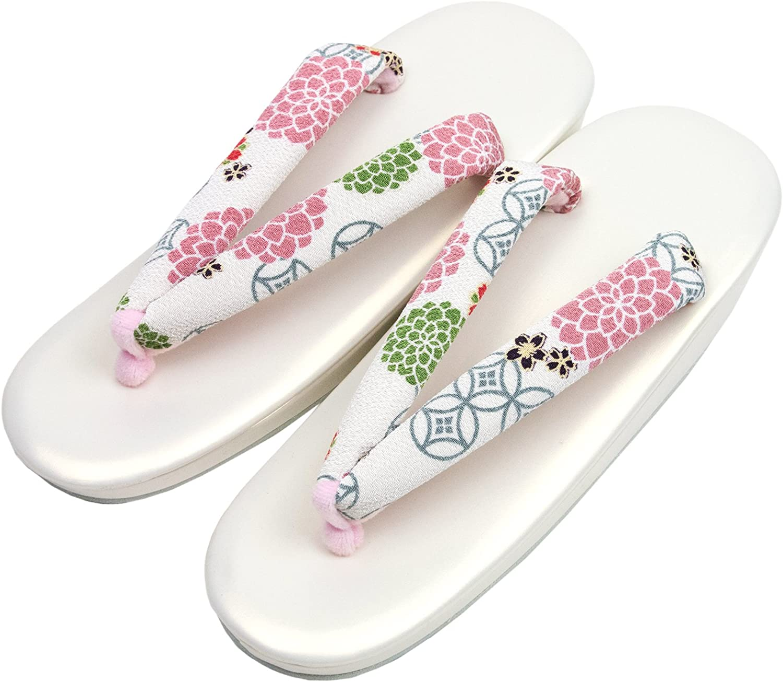 KYOETSU Woherrar R R R -Footbed Zori Sandals för Kimono och Yuka 42  erbjuder butik