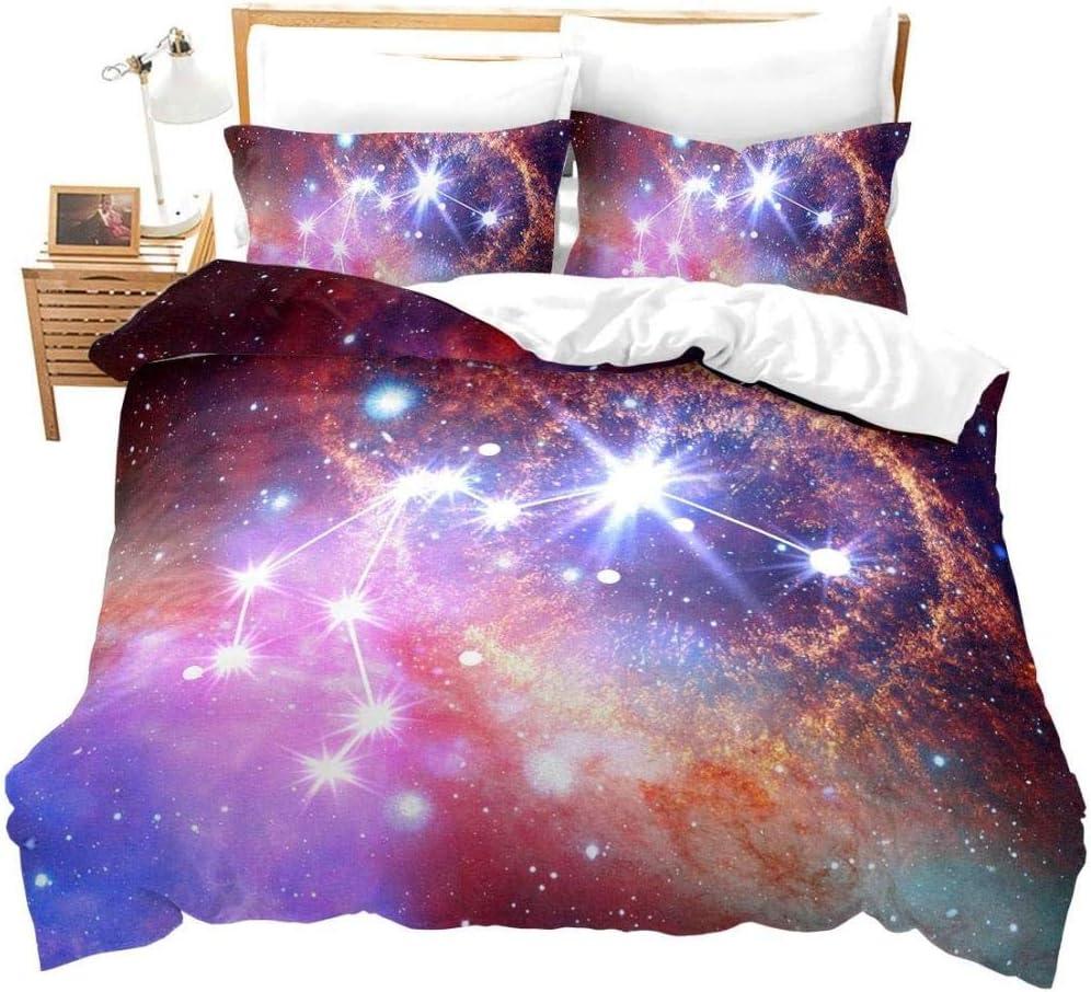 dsgsd Queen Duvet Covers Purple service Aquarius Miami Mall Land Galaxy Space Outer