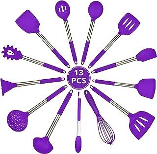 Best purple utensils set Reviews