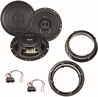 Crunch DSX62 16,5 cm 2 Wege Lautsprecher Einbauset für Passat 3B 3BG New Beetle