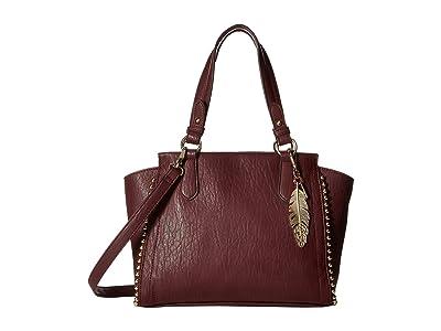 Jessica Simpson Camile Satchel (Zinfandel) Satchel Handbags