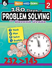 180 Days of Problem Solving for Second Grade – Build Math Fluency with this 2nd Grade Math Workbook (180 Days of Practice)
