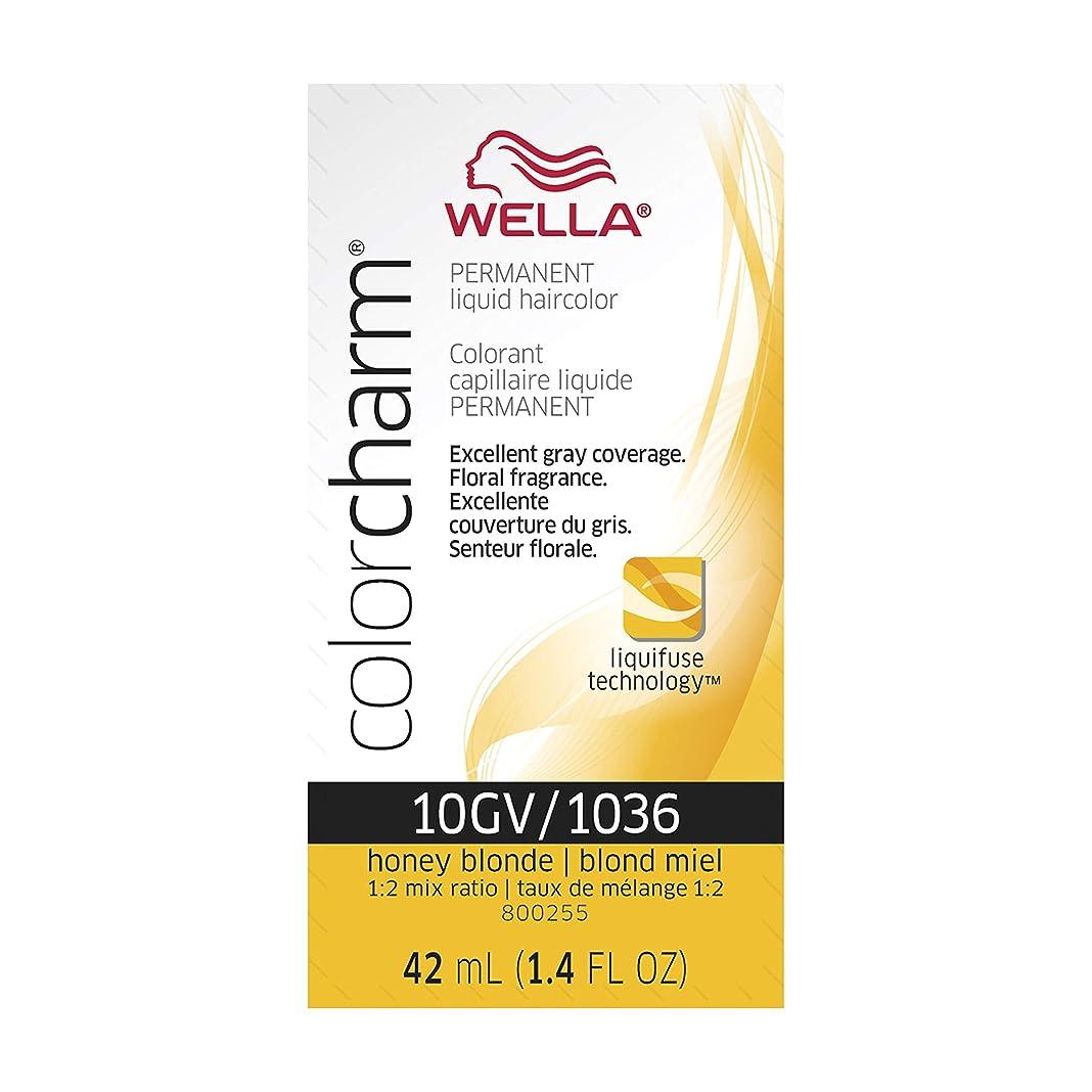 自宅で取り組む同化Wella チャーム液体クリームヘアカラー、1036 / 10gv #1036 / 10gv