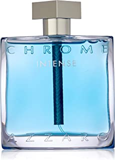 Azzaro Chrome Intense Eau de Toilette Spray, 3.4 Fl Oz