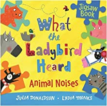 What the Ladybird Heard Jigsaw Book by Julia Donaldson - Paperback