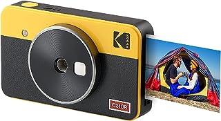 Kodak Mini Shot 2 Retro Cámara instantánea e Impresora fotográfica portátil, iOS y Android, tecnología 4Pass (54 x 86 mm)...