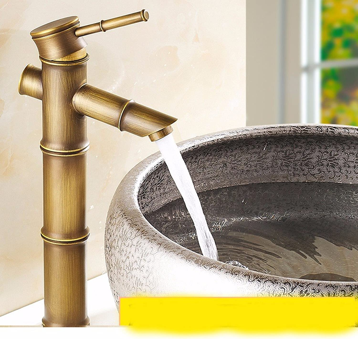 AWXJX European style retro style copper Hot and cold Wash your face Sink faucet