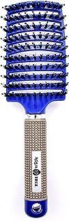 Magic Detangling Hair Brush - Paddle Vent Brush - Boar Bristle Hairbrush - Curly Hair Detangle - Wet Hair Detangler (Royal...