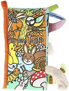 Jellycat Bez Kitap/Garden Tails Book Eğitici Kitap Standart STD