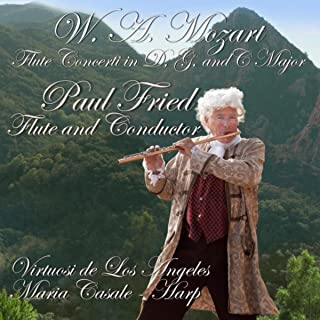 W. A. Mozart: Flute Concerti in G - D & C Major