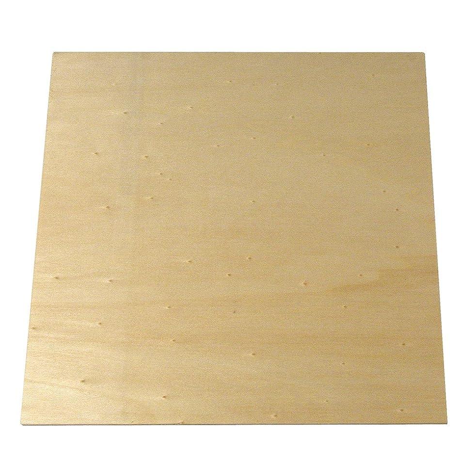 Rayher Hobby 6299700 Plywood Board 200 x 200 x 4 mm