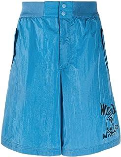 Moschino Luxury Fashion Mens A033702211301 Light Blue Shorts | Spring Summer 20
