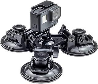 Digicharge Actionkamera bil vindruta fönster trippel sugkopp montering hållare kompatibel för GoPro Max Hero9 9 Hero8 Hero...