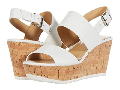Nine West Dera (White Leather) Women
