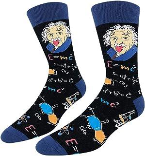 Best Men Novelty Socks - Crazy Pattern Dress Socks - Funny Gifts for Daddy, Boyfriend, Teen Review