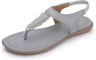 Myra Women's Embellished Flat Sandals