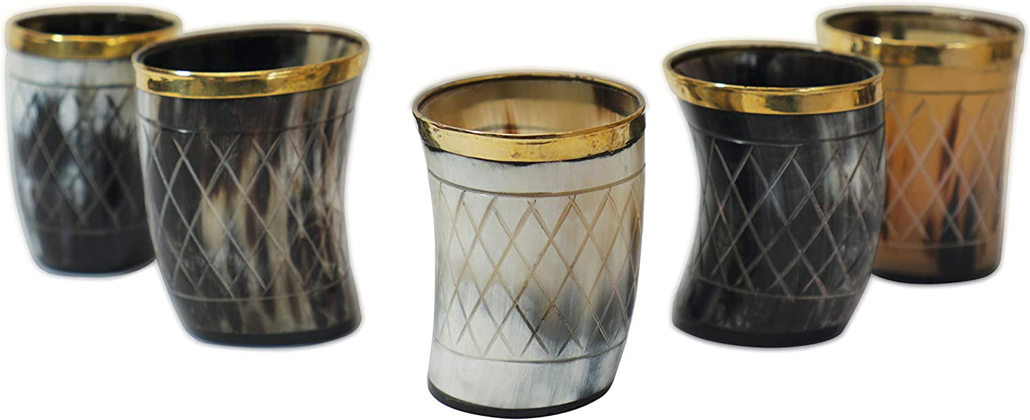 Viking Vibes by Loop Drinking Hand Genuine - 2021 spring and summer Max 49% OFF new Shot Glasses