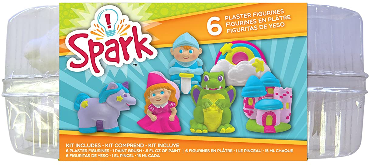 Colorbok YPI50047 You Paint It Plaster Kit, Value Pack, Enchanted luegy0179