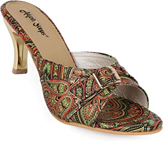 Adjoin Steps Printed Kitten Heels Women's and Girls