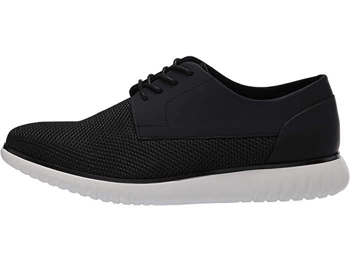 Calvin Klein Teodor Diamond Black Air Mesh/rubberized Leher Oxfords