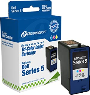 Dataproducts DPCM4646 Remanufactured High Yield Ink Cartridge Replacement for Dell J5567/M4646 (Tri-Color)
