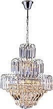Startec 140120000, Lustre Floratas, Cristal Transparente Bivolt