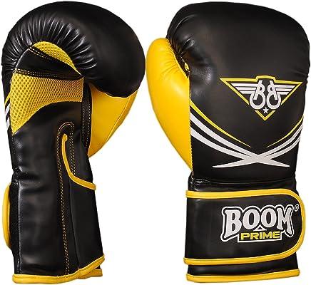 Boom Prime gelb Leder Boxhandschuhe MMA Sparring Training Kampf Muay Thai (Kostenloser UK Versand) B01N052F9I   | Kaufen Sie beruhigt und glücklich spielen