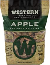 Western Premium BBQ Products Apple BBQ Smoking Chips, 180 cu in