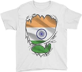 Indian Superhero Under Shirt India Flag T-Shirt