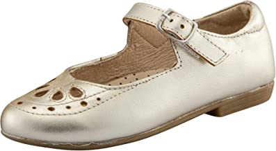 Old Soles Girl's Brule Gal Leather Mary Jane Dress Shoes