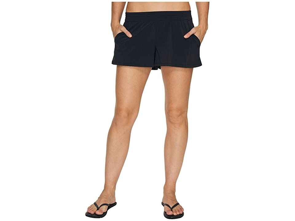 Toad&Co Sunkissed Pull-On Shorts (Black) Women