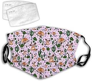 Comfortable Facial Decorations 3D A Tired Panda Anti-Dust Windproof Cover Adjustable Elastic Strap