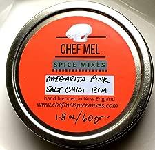 Chef Mel Margarita Pink Salt Chili Cocktail Rim