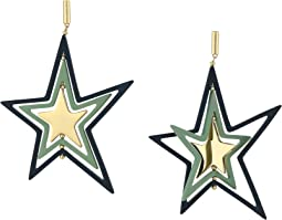 Spinning Star Statement Earrings