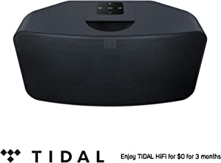 Bluesound Pulse Mini 2i Compact Wireless Multi-Room Smart Speaker with Bluetooth - Black - Tidal HiFi for $0 for 3 Months