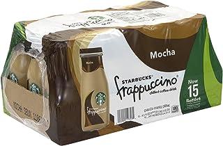 Starbucks Frappuccino Coffee Drink 9.5 oz Glass Bottles (15-Pack) (Vanilla)