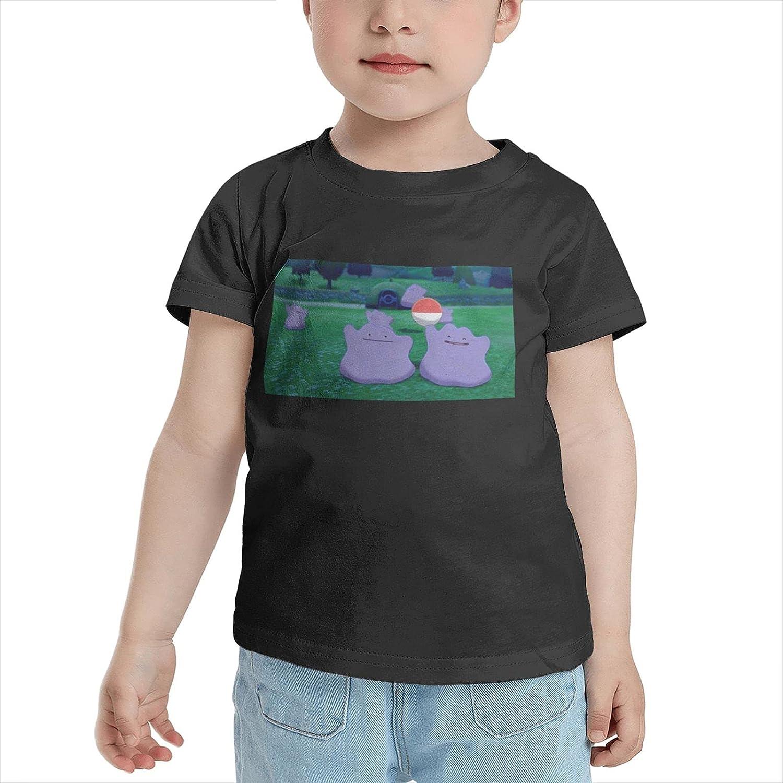 Poke Ditto T Shirt Girl Child Shirts Classic Short Sleeve Tops Tees Tshirts for Boy Girl's Boy's