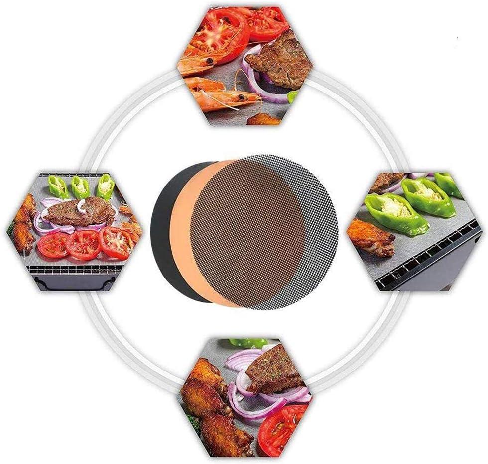 Tapis de barbecue en maille antiadhésive réutilisable, facile à nettoyer, fonctionne sur gaz, charbon de bois, barbecue électrique 1 1