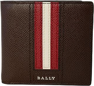 [バリー] BALLY バリー 財布 6219954 TEISEL.LT 211 二つ折り 財布 折りたたみ 財布 COCONUT 赤茶系 かぶせ蓋 [並行輸入品]