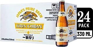 Kirin Ichiban Lager Beer Bottle, 330ml (Pack of 24)
