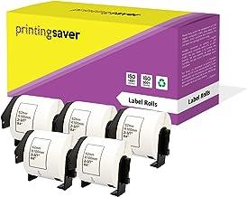 Bubprint/Rotolo compatibile per Brother DK-22205 DK22205 e per P-Touch 1000 QL1050 QL-1060N QL500 QL560 QL570 QL700 QL710W QL720NW QL800 QL810W
