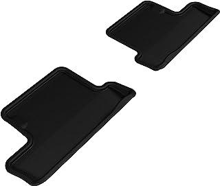 3D MAXpider - L1SC00221509 Second Row Custom Fit All-Weather Floor Mat for Select Scion FR-S Models - Kagu Rubber (Black)
