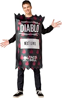 Taco Bell Diablo Packet Costume