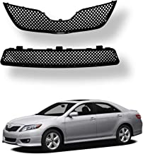 2pcs Upper & Lower Grill for Toyota Camry   2010 2011   Glossy Black Mesh ABS   by AutoModed …