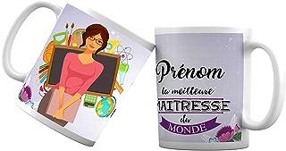 Mug tasse personnalisé la meilleure maitresse - Tasse cadeau