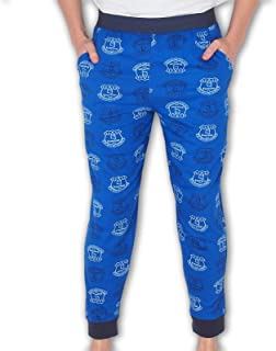 Everton Football Club Official Soccer Gift Mens Lounge Pants Pajama Bottoms Blue